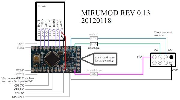 mirumod - ar.drone v1.0 and v2.0 wifi-less mod by miru 2005 mazda 3 2 0 wiring diagram ar drone 2 0 wiring diagram